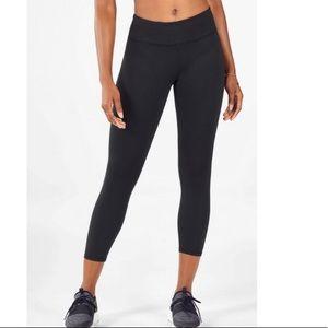 New! Fabletics powerhold black leggings size XL